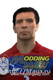 GIANLUIGI BUFFON FACE - SECOND VERSION