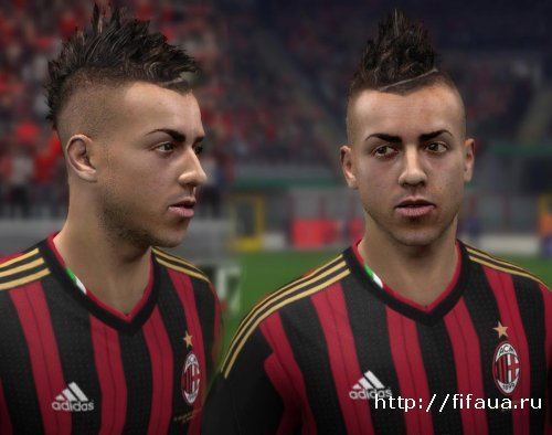 FIFA 14 MILAN AND ROMA FACE PACK BY M4RSATTACK'S