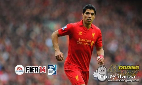FIFA 14 SUAREZ SPLASH SCREEN