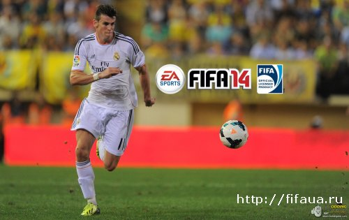 FIFA 14 - BALE SPLASH SCREEN