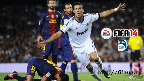 FIFA 14 RONALDO SPLASH SCREEN