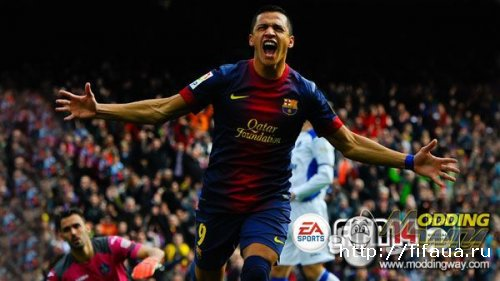FIFA 14 ALEXIS SPLASH SCREEN