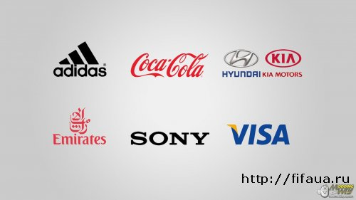 FIFA OFFICIAL PARTNERS SPLASH SCREEN