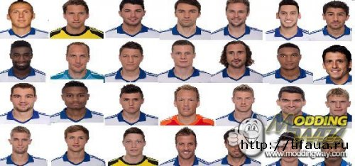 HAMBURGER SV MINIFACES 13-14