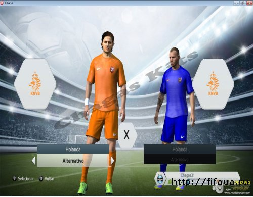 FIFA 14 Kit Holland 2014