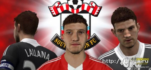Adam Lallana face by krisaju95 - FIFA 14