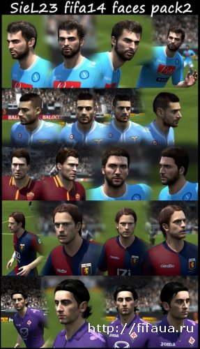 FIFA14 faces pack