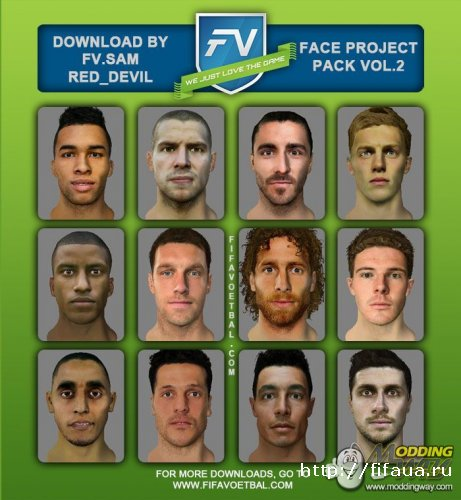FIFA14 FACE PROJECT INTERNATIONAL