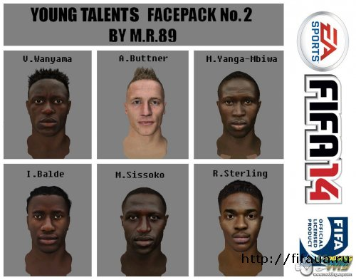 YOUNG TALENTS FACEPACK №2