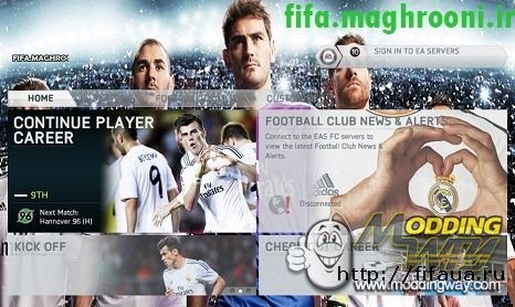 THEME REAL MADRID-BY SDAVRIL & YOUSEF MH FIFA 14