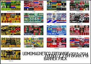 Eredivisie 2013-2014 banner pack by uomomagnetico