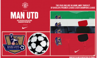 FIFA 14 Manchester United Full Kit Set BPL & UCL by afwan11