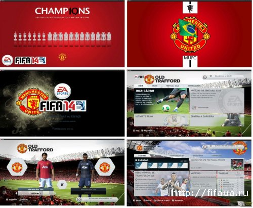 BACKGROUND - MANCHESTER UNITED