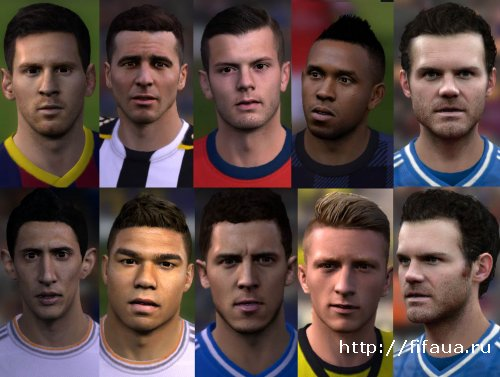 FIFA 14 Facepack v4 By Anuke
