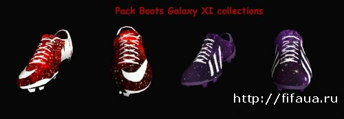 FIFA 14 PackBoots Galaxy XI collections