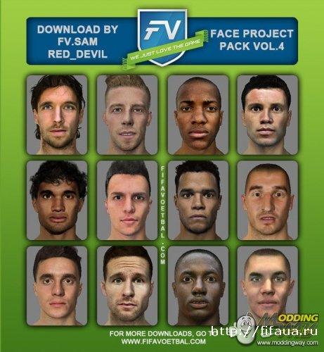 FIFA14 FACE PROJECT VOL.4 BY SAM_RED DEVIL