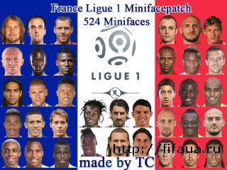 FIFA 14 France Ligue I Minifacepatch by TC