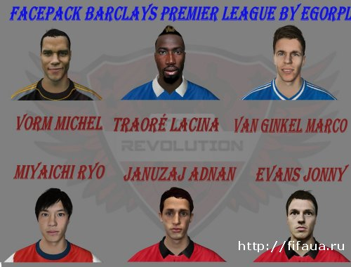 Facepack Barclays Premier League by EgorPl