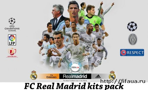 "FIFA 14 ""FC Real Madrid kits pack 13/14"""