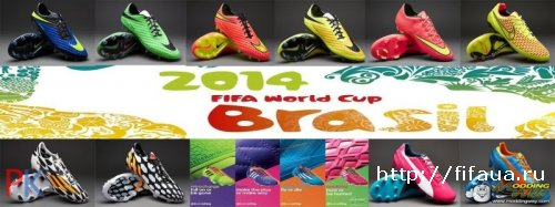 Boots Of The World Cup Brazil 2014 + FNL FIFA MOD 2.0