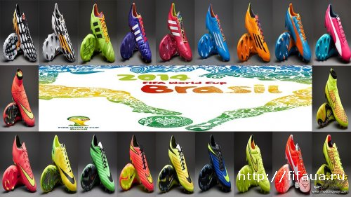 Boots of the World Cup Brazil 2014 v2.0 by CleytonLerya