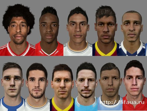 ФИФА 14 New Facepack - FIFA 14 by Anuke
