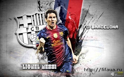 Background Leo Messi For Fifa 14