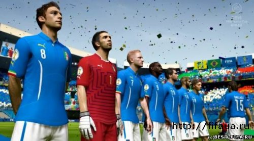 "МОД 2WORLD CUP 2014 EDITION MOD VR/1.0"" ДЛЯ FIFA14"