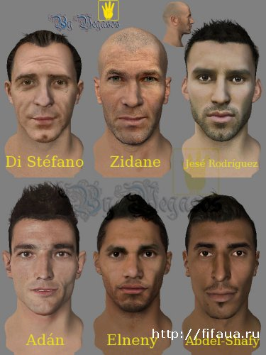 FIFA 14 NEW FACE PACK 2014 BY VEGASOS