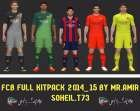 PES 14 FC BARCELONA FULL KIT PACK BY MR.AMIR&SOHEIL.T73