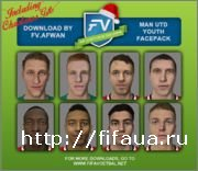 FIFA 15 Man United Youth Facepack + Christmas Gifts by FV.Afwan