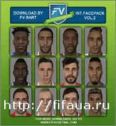 FIFA 15 International Facepack vol.2 by FV.Bart