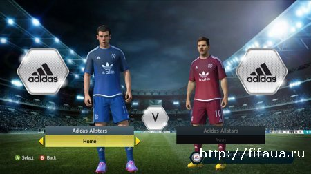ФИФА 14 ADIDAS ALL STARS TEAM KITS (UPDATED)