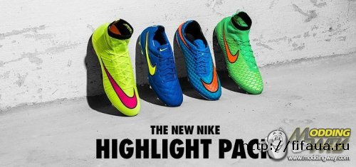 FIFA 14 NIKE HIGHLIGHT PACK BOOTS