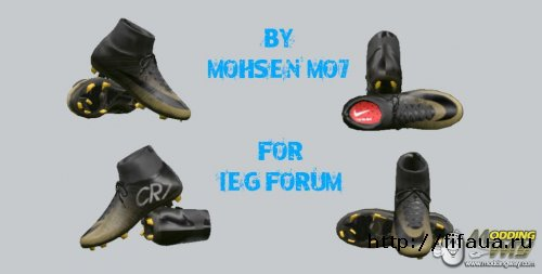 PES 15 CR7 BOOT BY MOHSEN MO7
