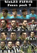 FIFA15 Faces pack 7