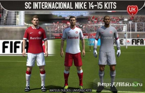 FIFA 14 SC Internacional Nike 14-15 Kits HD