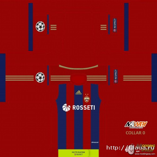 FIFA 15 CSKA Moscow CL Version 14-15