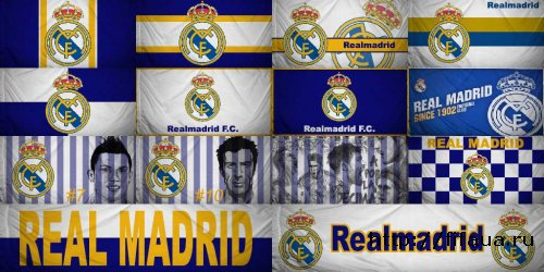 FIFA 14 Flags Real Madrid FC - Drapeau Real Madrid FC