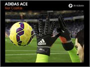 FIFA 15 Adidas Ace gloves – Iker Casillas