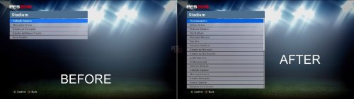 PES 2016 CPK Unlock Edit Stadiums