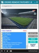 FIFA 16 CROWD REMOVE PATCHER 1.0 by MonkeyDragon