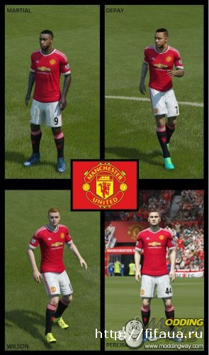 FIFA 15 Manchester United