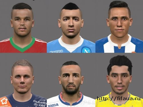 Pack 2 by pogoss PES 2016