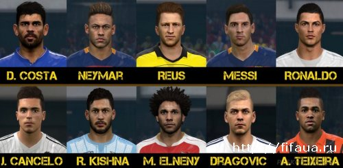 PES 2016 facepack vol.6 от Sameh Momen