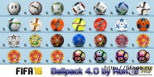 FIFA 16 Ballpack 4.0 by Ron69
