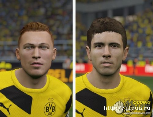 FIFA 15 BVB09 facepack by jasonhl4