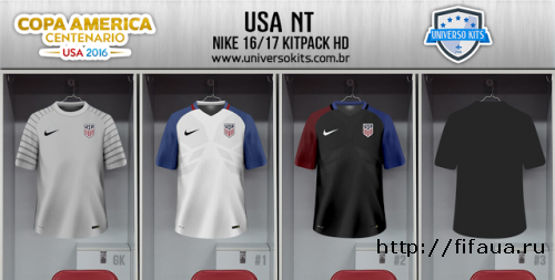FIFA 16 S SOCCER NT NIKE COPA AMÉRICA CENTENÁRIO KITPACK HD by Mateus Guedes