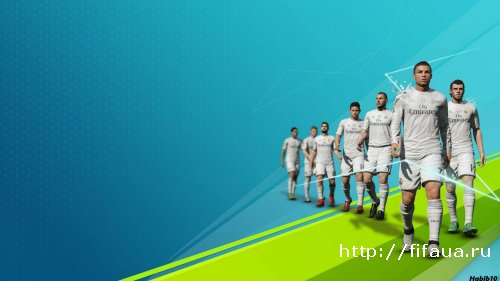FIFA 14 Real Madrid SPLASH by habib10