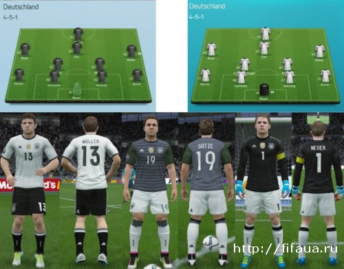 EURO 2016 GERMANY Kitpack Final by Ron69